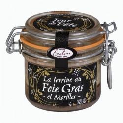 Terrine au foie gras et...